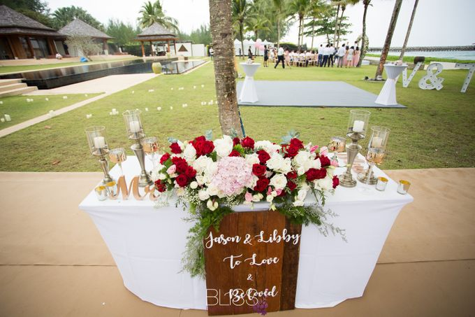 A wonderful rustic style wedding at Jivana villas Natai beach by BLISS Events & Weddings Thailand - 005