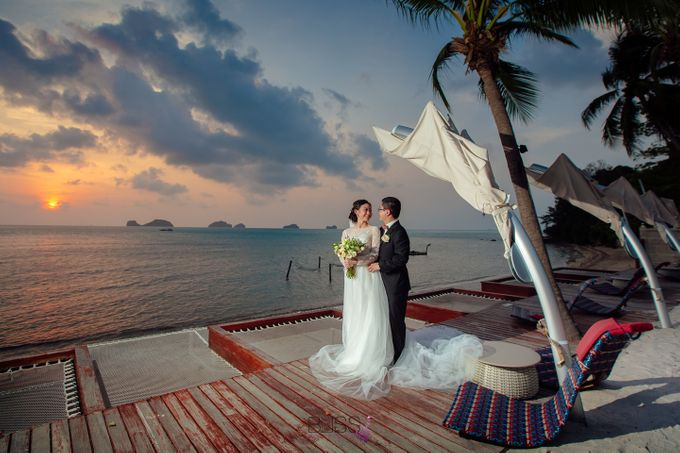 Zou Yiming and Wu Yu wedding at Conrad Koh Samui by BLISS Events & Weddings Thailand - 011