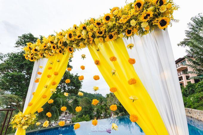 Aayush and Navreet indian wedding at westin siray bay Phuket Thailand by BLISS Events & Weddings Thailand - 009