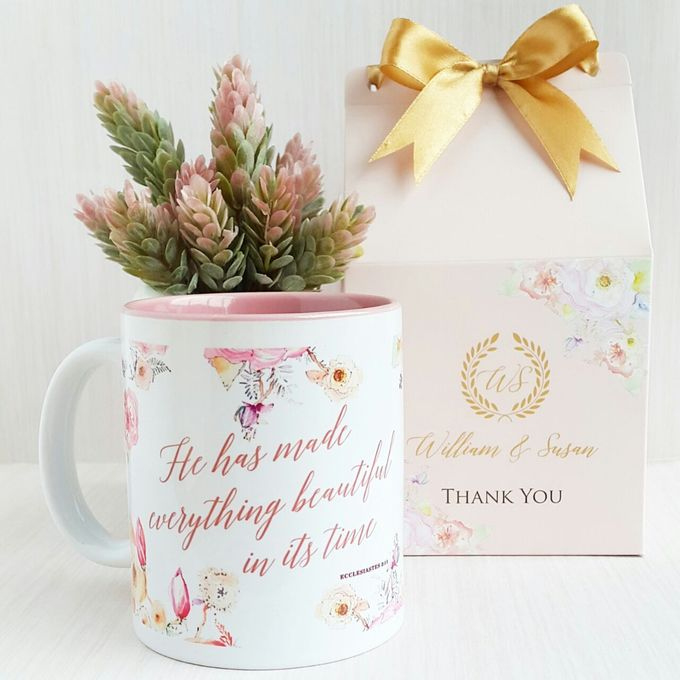 Mug Colour Inside - William & Susan by Red Ribbon Gift - 001