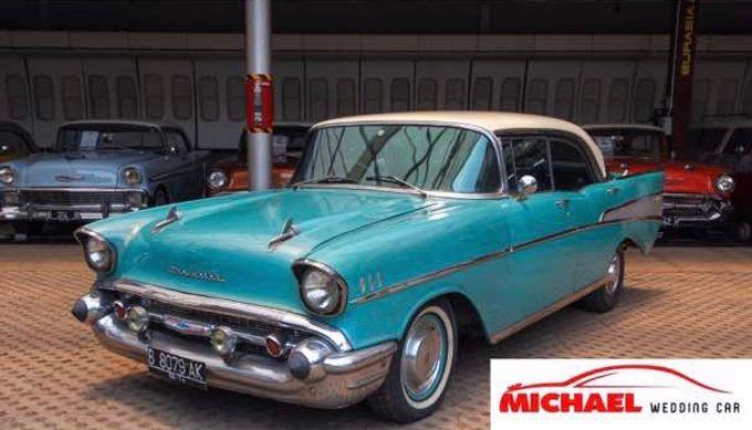 Classic Wedding Car by Michael Wedding Car - 002