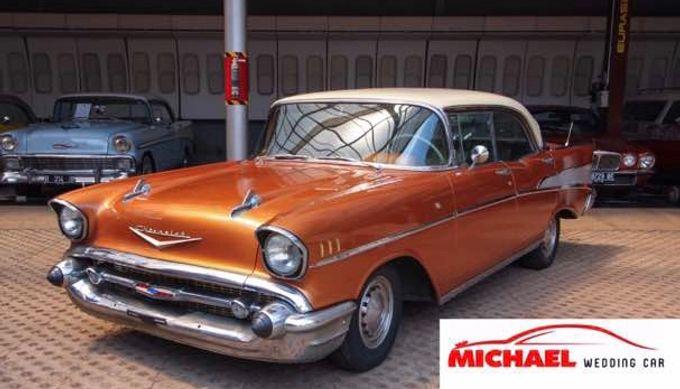 Classic Wedding Car by Michael Wedding Car - 003