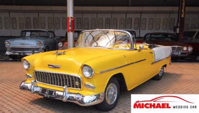 Classic Wedding Car by Michael Wedding Car - 007
