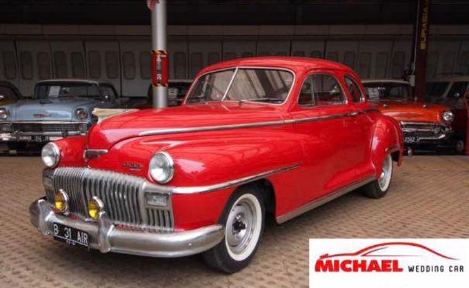 Classic Wedding Car by Michael Wedding Car - 008