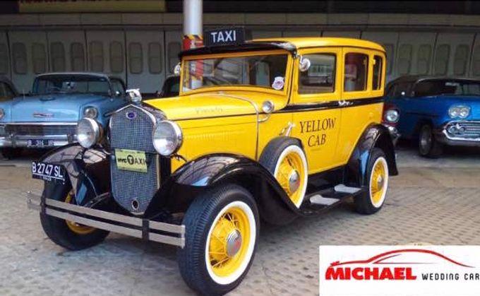 Classic Wedding Car by Michael Wedding Car - 010