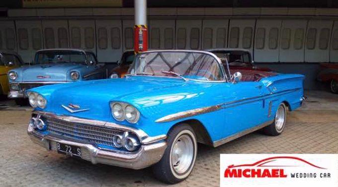 Classic Wedding Car by Michael Wedding Car - 011