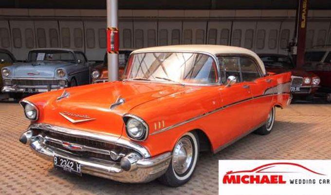 Classic Wedding Car by Michael Wedding Car - 004