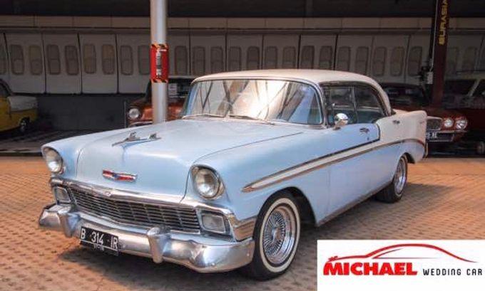 Classic Wedding Car by Michael Wedding Car - 005