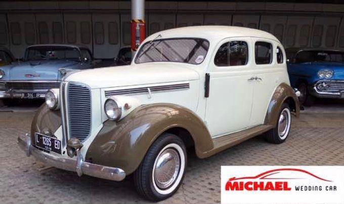 Classic Wedding Car by Michael Wedding Car - 006