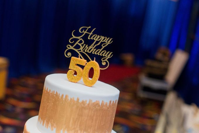 50th Birthday Celebration by Cakes 'n' Bakes - 001