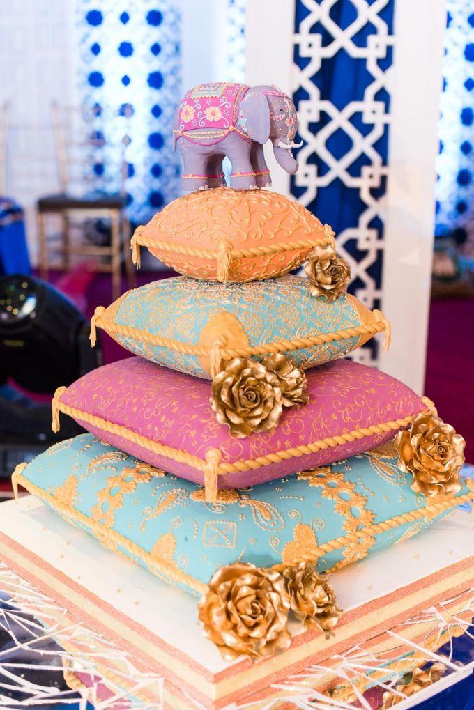 #NatAk Engagement Cake by Cakes 'n' Bakes - 001
