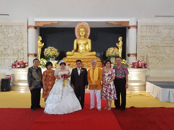 The Wedding of Yekson and Melisa by Gester Bridal & Salon Smart Hair - 005