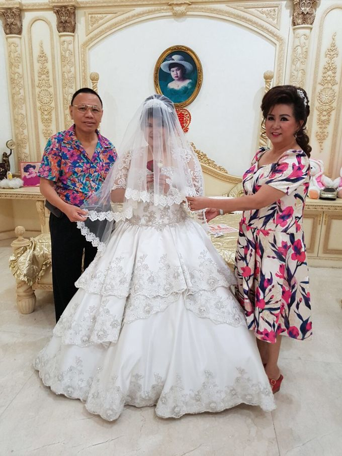The Wedding of Yekson and Melisa by Gester Bridal & Salon Smart Hair - 003