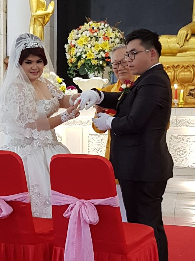 The Wedding of Yekson and Melisa by Gester Bridal & Salon Smart Hair - 004