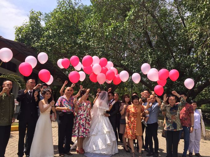 The Wedding of Yekson and Melisa by Gester Bridal & Salon Smart Hair - 006