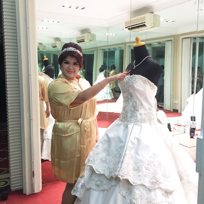 The Wedding of Yekson and Melisa by Gester Bridal & Salon Smart Hair - 002