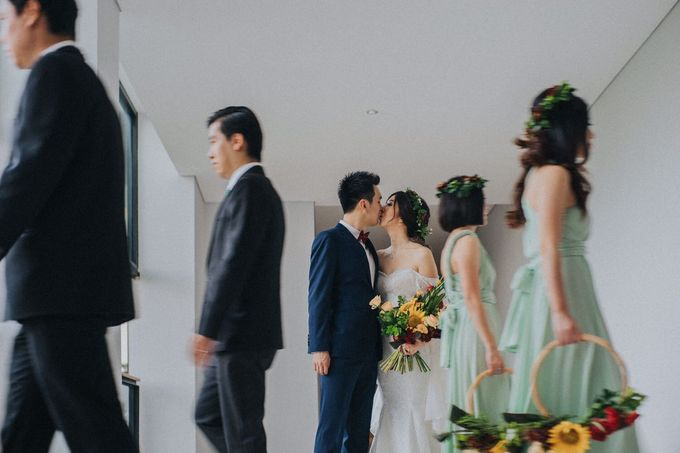 Wedding Day of Willy & Alviana by Edelweis Organizer - 005