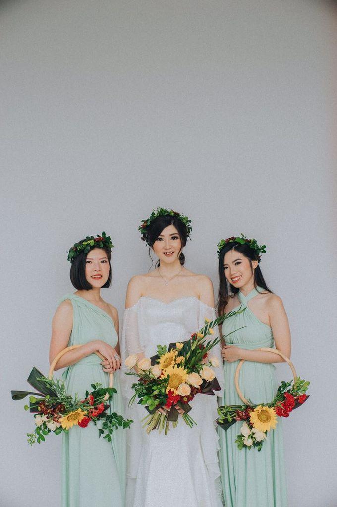 Wedding Day of Willy & Alviana by Edelweis Organizer - 006