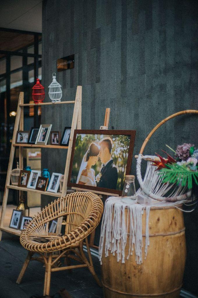 Wedding Day of Willy & Alviana by Edelweis Organizer - 007