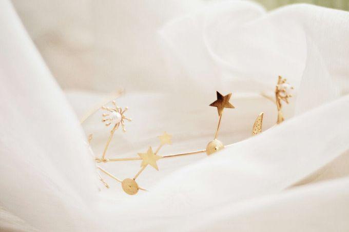 Stars And Moon Headband by ayyara - 001