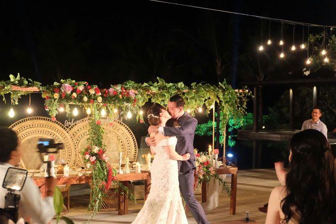 MC WEDDING GUSTIN & JENNY AT FAIRMONT HOTEL SANUR by Aldo Adela MC & Magician - 011