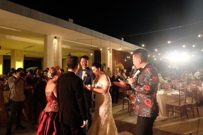 MC WEDDING GUSTIN & JENNY AT FAIRMONT HOTEL SANUR by Aldo Adela MC & Magician - 012