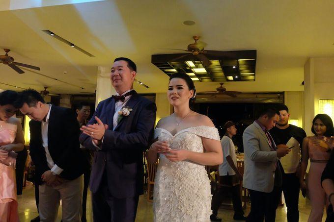 MC WEDDING GUSTIN & JENNY AT FAIRMONT HOTEL SANUR by Aldo Adela MC & Magician - 014