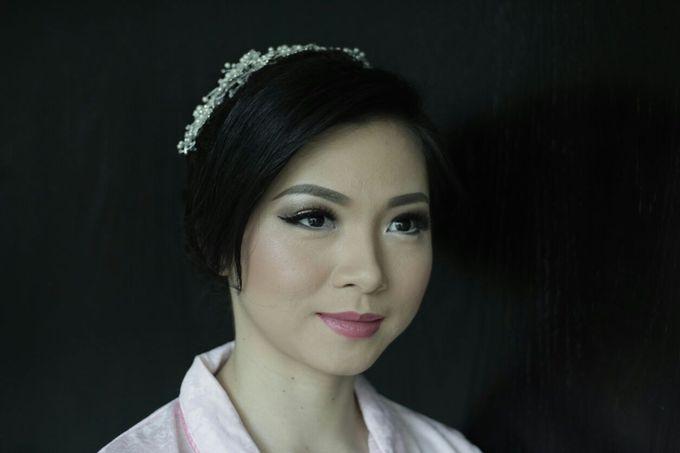 Makeup & Hairdo For Sister Of The Bride By Oscar D by Oscar Daniel - 003