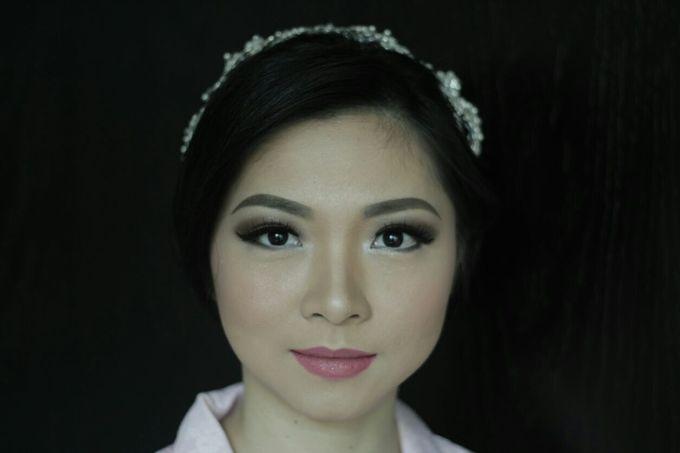 Makeup & Hairdo For Sister Of The Bride By Oscar D by Oscar Daniel - 008