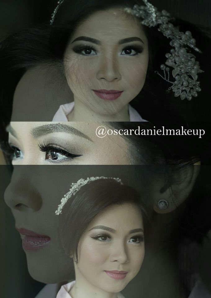 Makeup & Hairdo For Sister Of The Bride By Oscar D by Oscar Daniel - 006