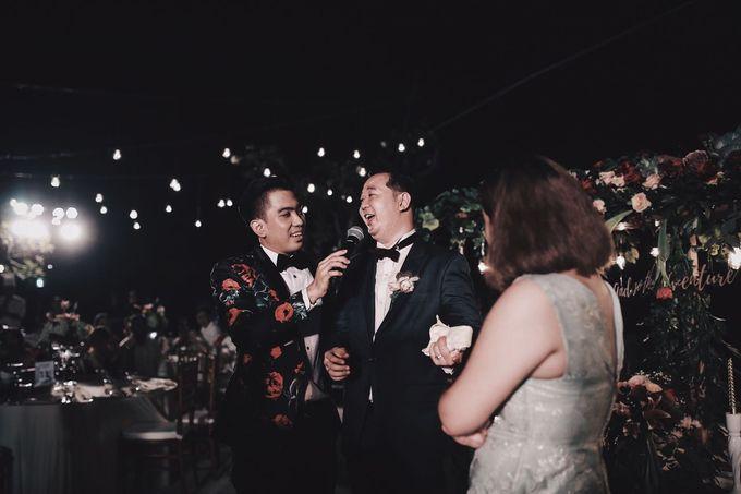 MC WEDDING GUSTIN & JENNY AT FAIRMONT HOTEL SANUR by Aldo Adela MC & Magician - 002