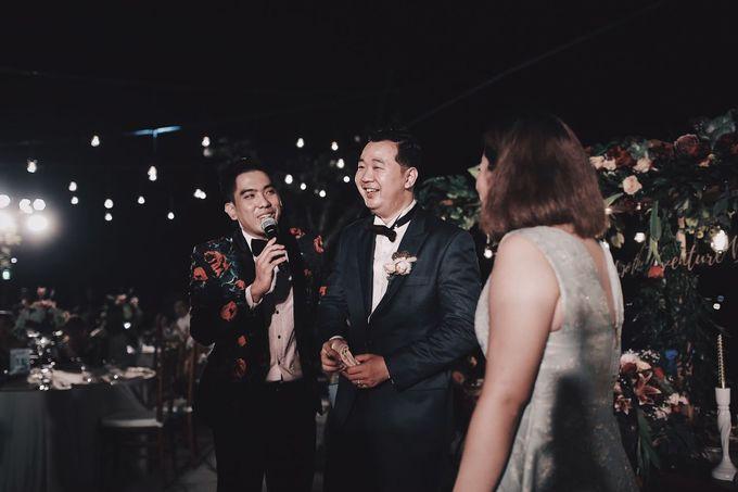 MC WEDDING GUSTIN & JENNY AT FAIRMONT HOTEL SANUR by Aldo Adela MC & Magician - 004