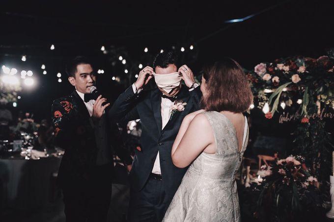 MC WEDDING GUSTIN & JENNY AT FAIRMONT HOTEL SANUR by Aldo Adela MC & Magician - 005