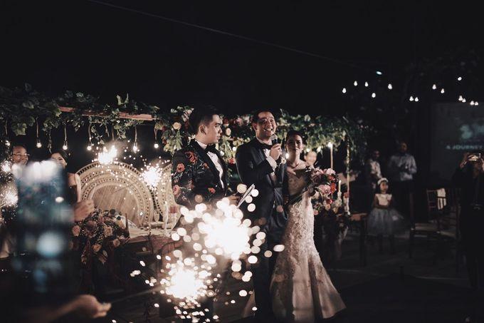MC WEDDING GUSTIN & JENNY AT FAIRMONT HOTEL SANUR by Aldo Adela MC & Magician - 001