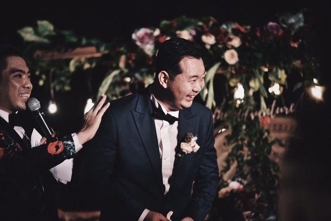 MC WEDDING GUSTIN & JENNY AT FAIRMONT HOTEL SANUR by Aldo Adela MC & Magician - 008