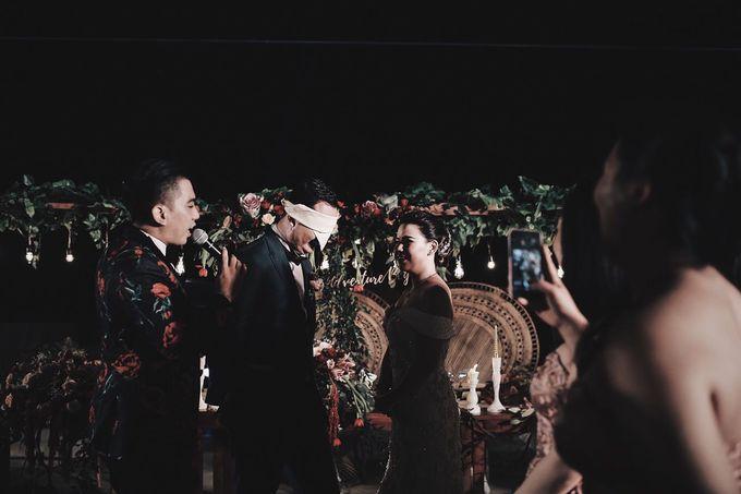 MC WEDDING GUSTIN & JENNY AT FAIRMONT HOTEL SANUR by Aldo Adela MC & Magician - 010