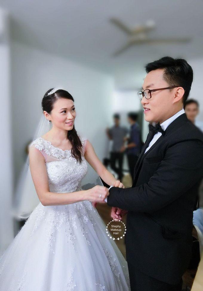 Malaysian Chin | Church Wedding by Stephy Ng Makeup and Hair ...
