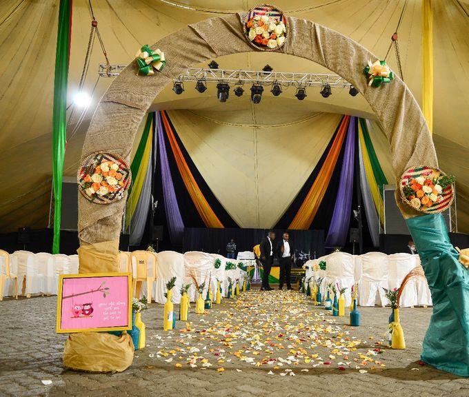 Rustic Modern Wedding by Skeey Decors - 001