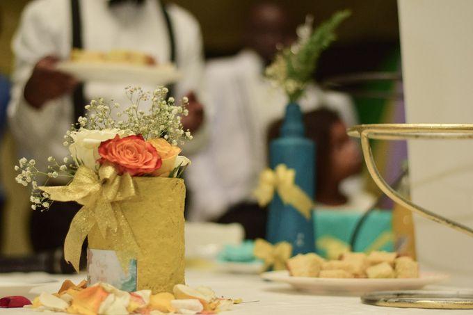 Rustic Modern Wedding by Skeey Decors - 002