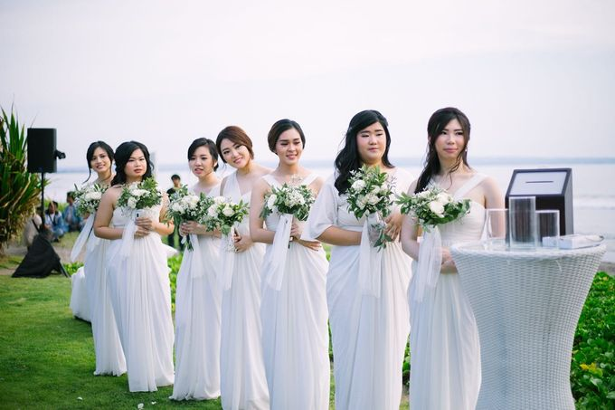 Sulli & Verencia by Lademoiselle Bridesmaids - 003