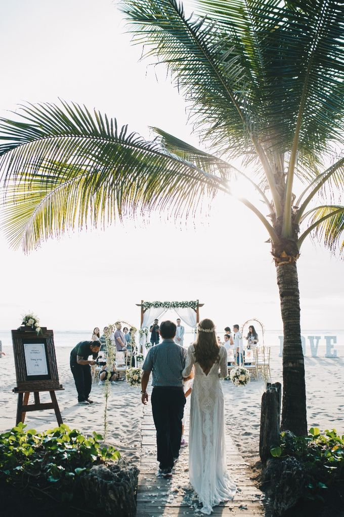 Beach Wedding by Flo Wedding Organizer - 004