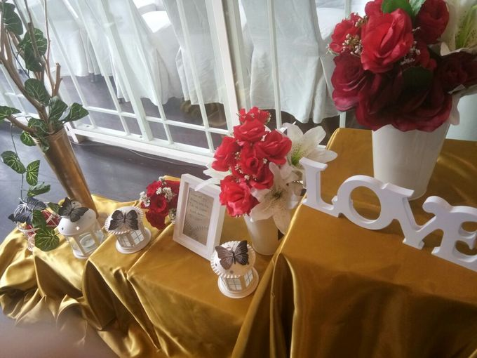 Wedding Table decor by Lavie Planner - 002