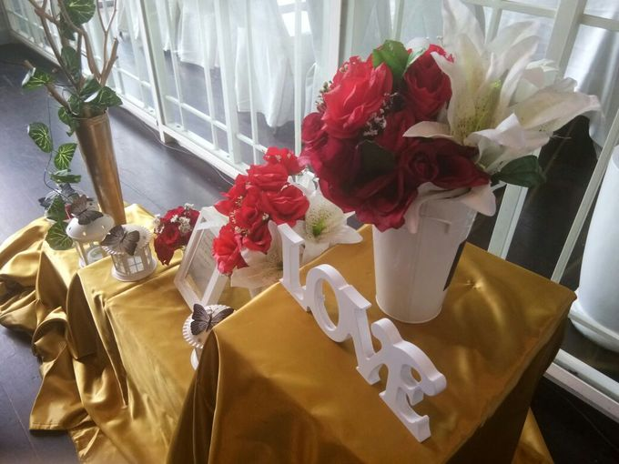 Wedding Table decor by Lavie Planner - 001