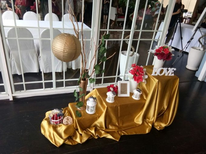 Wedding Table decor by Lavie Planner - 006