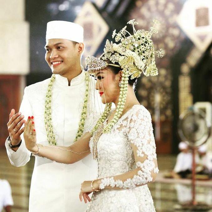 Ayu & Fadil Wedding Day by Violetta Wedding - 005