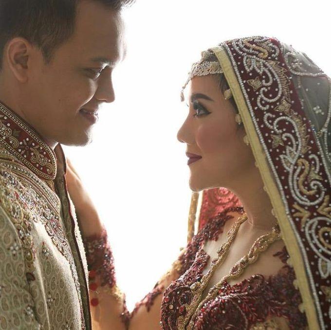 Ayu & Fadil Wedding Day by Violetta Wedding - 006