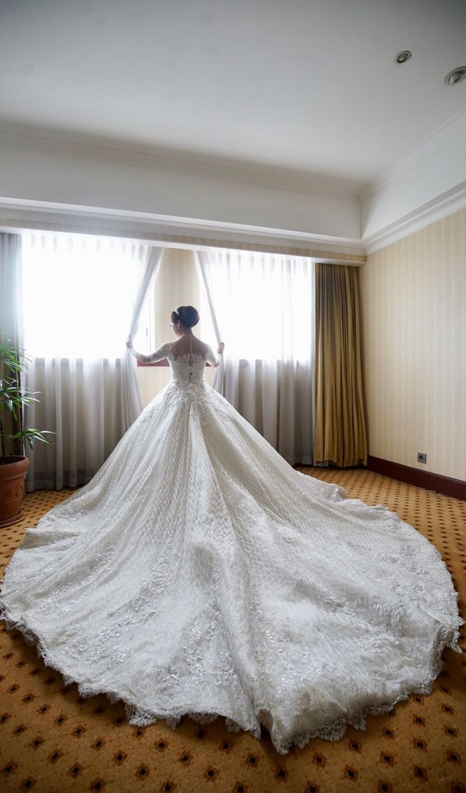 Wedding Of Melvin & Jane by Hotel Borobudur Jakarta - 001