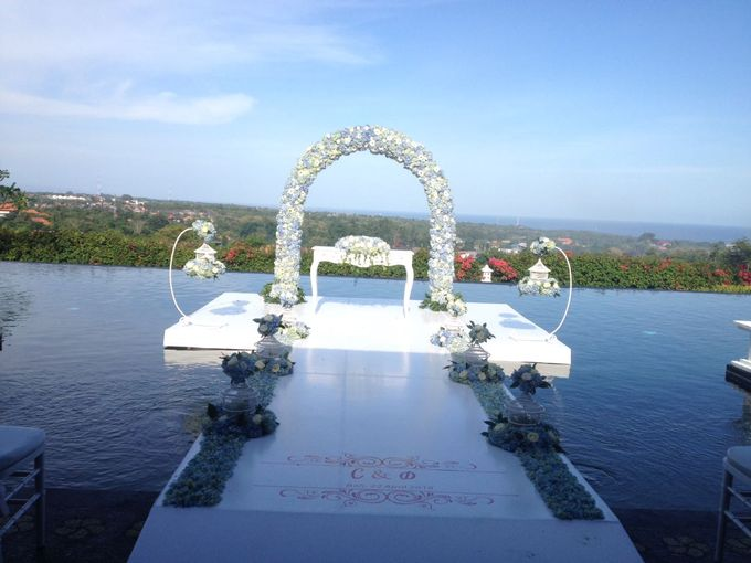Water Wedding Decoration by Jc Florist Bali - 006