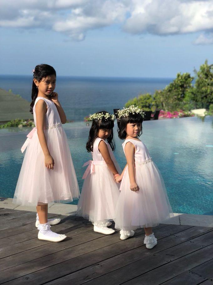 William & Amelia Bali Wedding by LITTLE BRIDE - 001