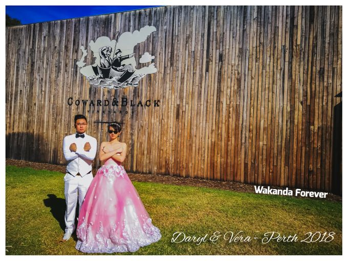 Perth Destination Pre-Wedding Photoshoot by Angel Chua Lay Keng Makeup and Hair - 004